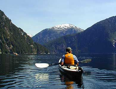Views on Guided Ketchikan Alaska Sea Kayaking Trips