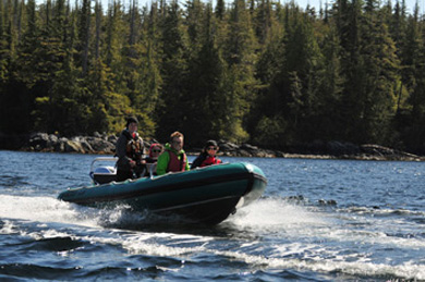 Fun on a Ketchikan Alaska Zodiac Boat Tour