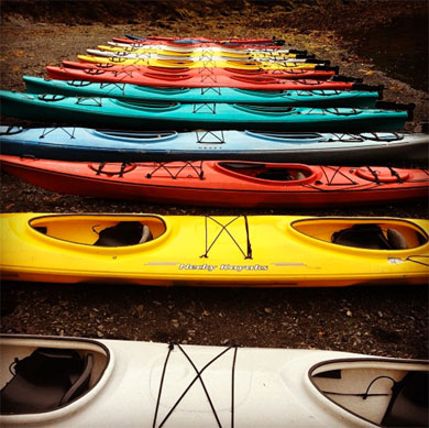 Our Ketchikan Kayak Rentals are available in plastic and fiberglass