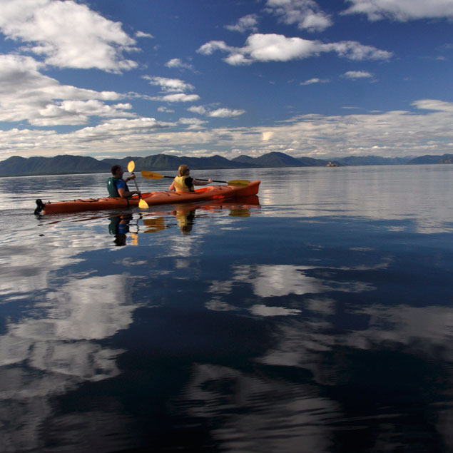 Sea Kayaking Tatoosh Islands Alaska